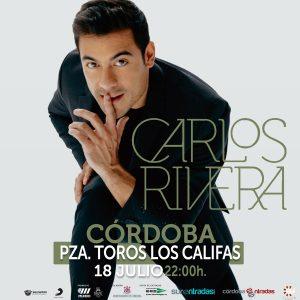 Carlos Rivera Córdoba Plaza de Toros los Califas 18 de julio